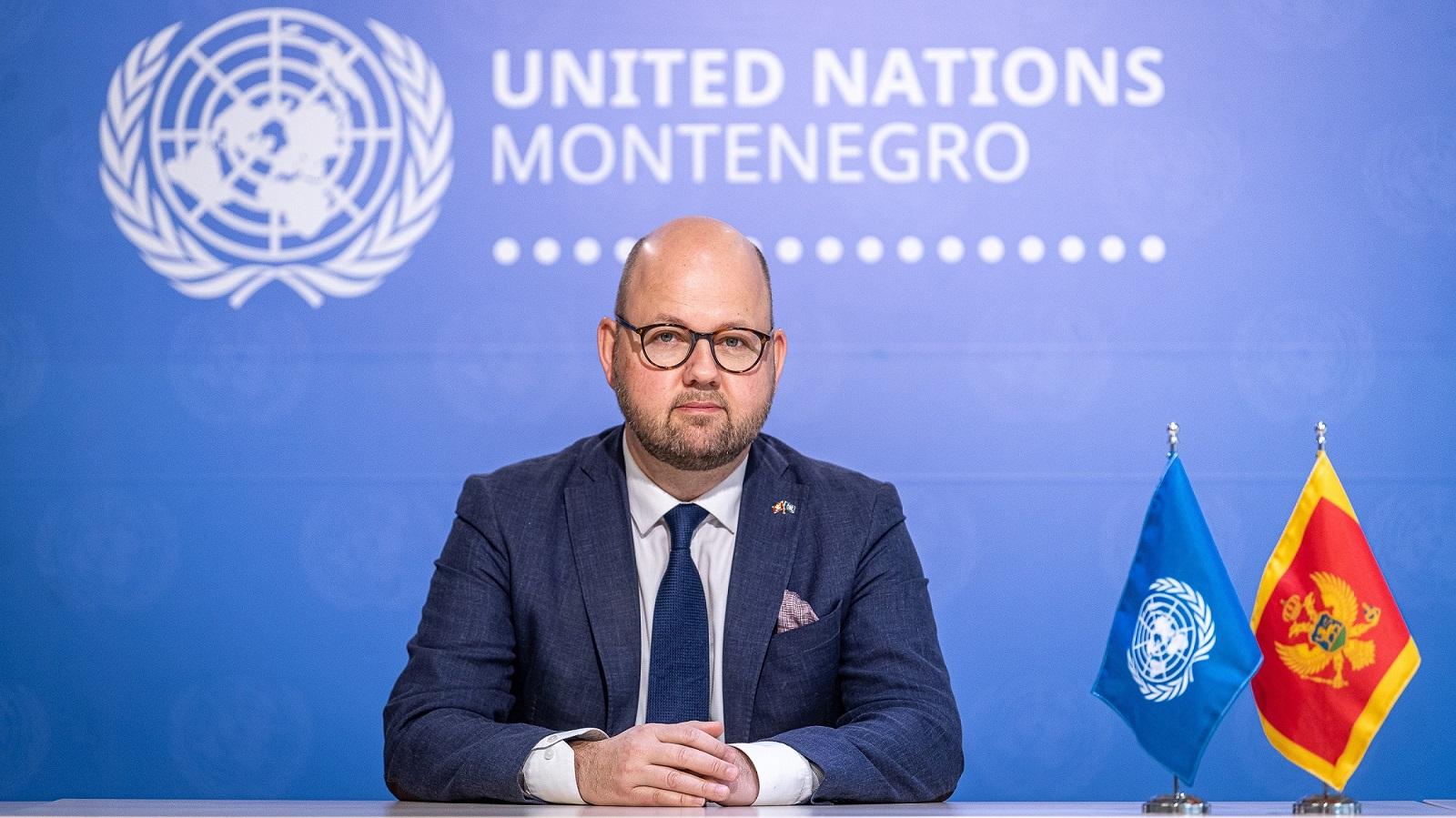 UN Resident Coordinator in Montenegro Peter Lundberg