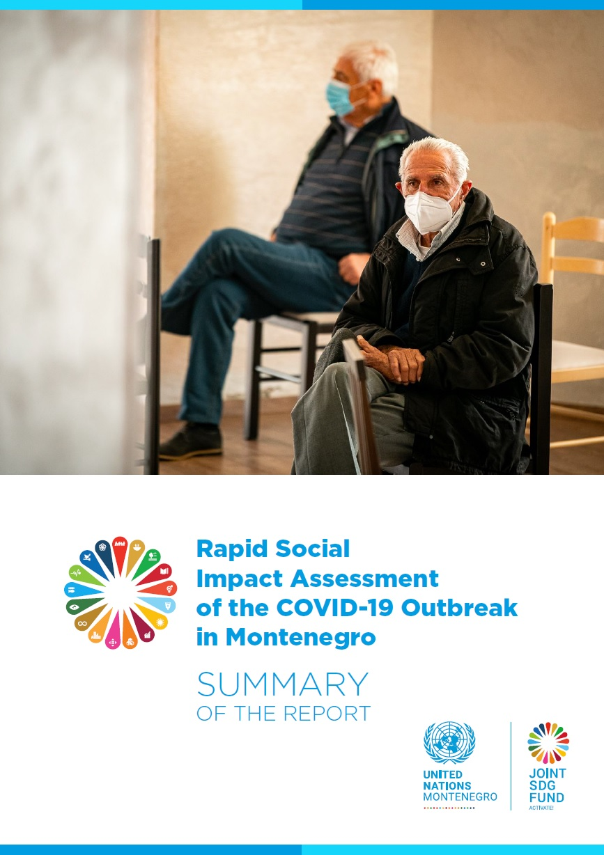 Summary of the Rapid Social Impact Assessment of the COVID-19 Outbreak in Montenegro - September 2021
